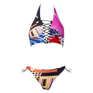 2017 femmes Push Up Soutien-gorge sport buste Bandage Bikini sexy nouveau style maillot de bain Femmes Triangle Maillot de bain