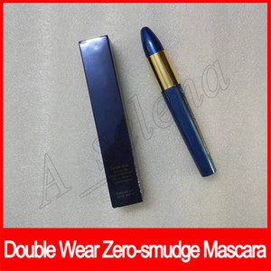 Ojo del maquillaje Double Wear Zero-mancha Alargamiento Tenue et longueur extrema Negro impermeable 9 ml Natural Ojos cosmética