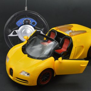 RC car Bugatti steering wheel open door remote control car Steering wheel simulation remote control hot sell Battery power Easy to control