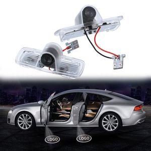 Honda için Araba kapı Işık Hayalet Gölge Hoşgeldiniz Lazer Projektör Işıkları Honda Accord Crosstour Için LED Araba Kapı Logosu