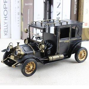 European Metal Vintage Model Car Toy arredamento articoli per l'ufficio Desk Decoration