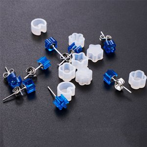 DIY Silicone Earring Ear Making Stud Mold Jewelry Resin Casting Mould Craft Tool