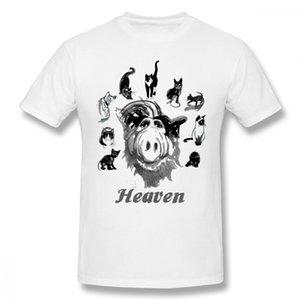 Pur coton Cartoon ciel Alf T-shirt Homme T-shirt Livraison gratuite O col Camiseta O-cou T-shirt oversize Streetwear pour les hommes