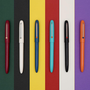 Andstal New KACO RETRO Fountain Pen High-end Schmidt Converter Extra Fine Nib Colorful Ink Pen Version Box Packaging for Office