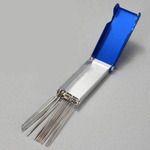 Acciaio durevoli universali pratici accessori Needle Files Portable carburatore getto del motociclo ATV Parts Cleaning Tool Set