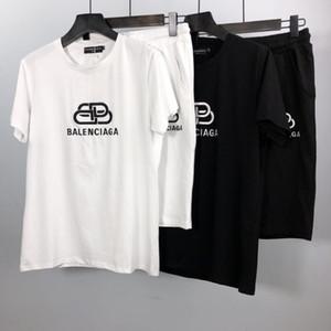 B B para hombre diseñador chándales de algodón de alta calidad para hombre chándal al aire libre streetwear hombres de lujo camiseta pantalones cortos chándal chico fresco