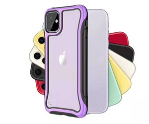 Phone Case For iPhone 2019 11 PRO MAX XS Max XR X Case Luxury Silicone Acrylic Back Case For iPhone 7 8 6 Plus Cover For iPhone 8 Plus XS