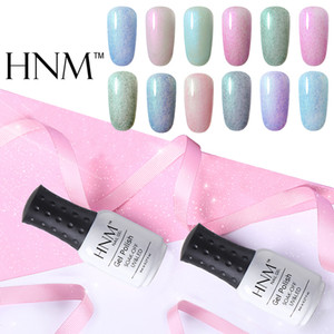 HNMPearly Fax Fur Series Lucky Lacquer UV Gel Nail Polish 8ml LED Lamp Gel Nail Polish Semi Permanent Soak Off Gelpolish