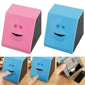 Candy Machine Crianças Box Dinheiro cara criativo Comer Box Economia automática de Banco Mastigar Mealheiro Gato Seguro Poupança Money For