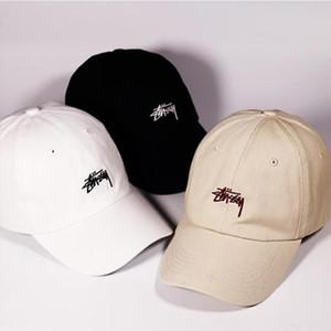 Baseballmütze der Männer Ins Hüte der Frauen Sommer-Marken Wilde Studenten Straße Hipster Caps Top-Qualität 2019 New Designer