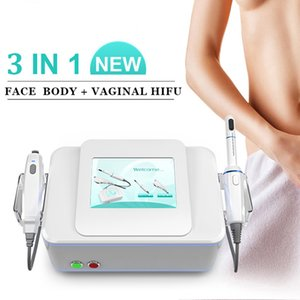 FDA aprovou HIFU máquina de ultra-som abdominal emagrecimento da face de elevação Vaginal máquina de aperto High Intensity Focused Ultrasound anti envelhecimento