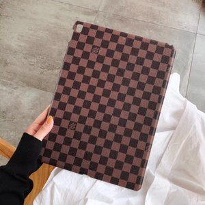 Design di lusso di Ipad di caso per la copertura della tavoletta iPad mini 1 2 3 di cuoio di griglia dell'annata per Ipad Air 10.5 Pro 12,9 pollici Back Cover Inch