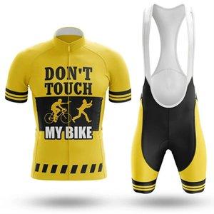 2021 Dokunmama Bisiklet Bisiklet Forması Set Yaz Dağ Bisikleti Giyim Pro Bisiklet Bisiklet Jersey Spor Suit Maillot Ropa Ciclismo