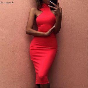 New Strap Women Turtleneck Dress Fashion Sexy Attractive Cute Elegant Midi Bandage Dresses Black White Red