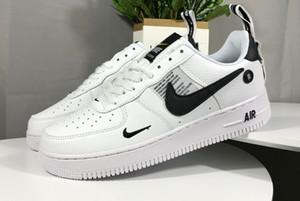 Barato de alta utilidad escotado negro Dunk FlyLine 1 zapatos casuales de los hombres clásicos de las mujeres que andan en monopatín zapatos blancos de trigo Formadores zapatillas A1