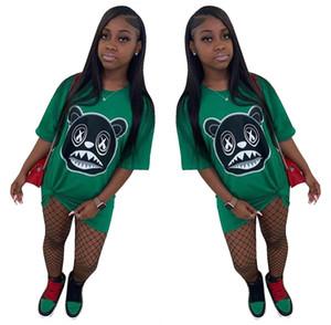 Stylish Animal Print Dresses for Women Girls Summer Streetwear Hip Hop Dance Nightclub New Fashion Style Hot Sale T-shirt Dress