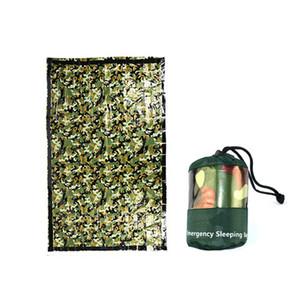 NEW Тактические Открытый Emergency Survival Sleeping Bag многоразовый Одеяло Отдых Туризм выживания Спасательные термоодеяла Новый