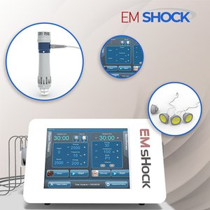 EMSHOCK машины ударно-волновой терапии для улучшения сход развал физиотерапия болеутоляющих целлюлита уменьшить с 5pcs передатчиков