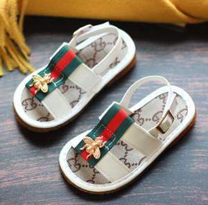 Littie Bee-Kind-Baby-Sandelholz-Schuhe Kind-Sommer-Kleinkind-Schuhe weiche Breathable bequeme Mädchen Jungen-Strand-Sandelholz-Schuhe