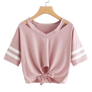 Womends Tee Shirt casuale del progettista 2020 corta estate T-shirt di moda di lusso delle donne di alta qualità Hollow outt Shirt Cloth S ~ 2XL 0.0