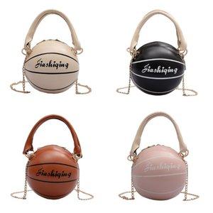 Mujeres PU Baloncesto hombro en forma de Crossbody del monedero del bolso de mano de la taleguilla caliente