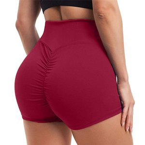 Sexy Female Shorts 2020 New high-quality High Waist Sports Shorts Workout Fitness Breathable Comfortable Solid Color