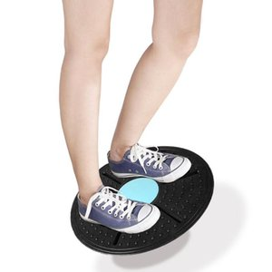 Board Fitness Equipment ABS Twist Boards Support 360 Degree Rotation Massage Board For Exercise And Physical