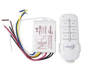 Controles baratos DIY 1/2/3/4 Ways 220 remoto digital sem fio Remote Control Switch ON / OFF 220V 220V Lâmpada de controle de luz