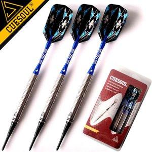 Nuovo CUESOUL freccette tungsteno freccette punta morbida freccette 18g 15 centimetri elettronico Dart con l'alluminio Alberi