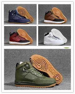 남성 스포츠 부츠 야외 높은 품질 스니커즈 유로 크기 40-46를 들어 2019 야외 신발 새로운 달 하나 Duckboot LF1 신발