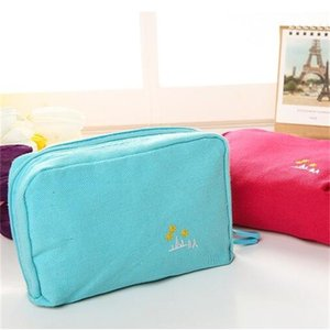 Bolso de tarjeta de billetera para mujer Bolsas de maquillaje Organizador Teléfono Almacenamiento de cosméticos Artículos de viaje multicolores 4 6bja UU