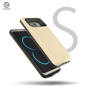 Neue Gewinn NEWDERY für Samsung s8 Große Kapazität Weiche Kanten zurück Clip Batterie Mobil-Clip Stromversorgung