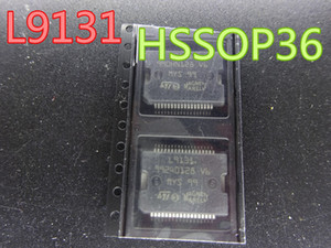 10pcs lot new Integrated Circuits L9131 HSSOP36 car engine computer board trip computer ECU power driver chips in stock free shipping