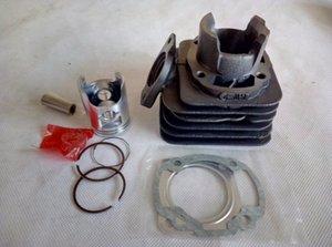 DIO 18/27/28/34/35 ZX50 50CC atualizar para 44MM 70cc 90cc / 47mm motor de motocicleta cilindro Kits com pistão e pino