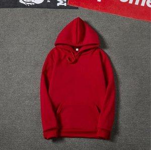 Moda designerMens marca de diseño de marca con capucha ligeras de lana con capucha impreso manera sudadera 6 colores para hombre de la calle Estilo Spor