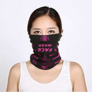 Anti UV Hood Knitted Caps Multifunction Face Mask Multi Outdoor Cycling Warmth Collar Skiing Wind Shield Mask Washable Designer Masks HA934