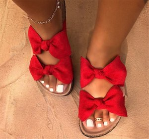 Summer Sandals Women 2020 Shoes Woman Sandals Fashion Slippers Bowknot PH-CFY20051532