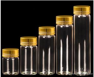 Moyen Transparent Bouteilles en verre bricolage Vials gros cruches vides de stockage Souhaitant bouteilles en verre décoratif cadeau Jars S028C
