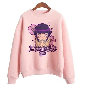 Japanese Anime Hinata Printed Hoodies Hooded Sweatshirts Cozy Tops Pullovers