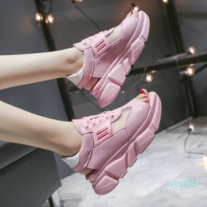Luxury Shoes Women Designers Breathable Platform Sandals 2020 Summer Woman Sneakers Sweet Girls Comfort Flat Sandalias Mujer ct3