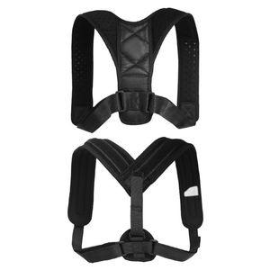 Unisex Torna correttore di posizione regolabile clavicola Brace confortevole spalla corretta correzione della postura della cinghia di sostegno della clavicola