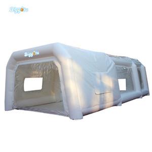 Китай Оптовая цена фабрики Надувная палатка Spray Paint Booth палатка для продажи