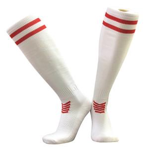 Чулки дышащих мужской футбол носков Женщины Колено Длинного Бег Баскетбол Полотенце носки Велосипед Волейбол Утолщение Нескользящих