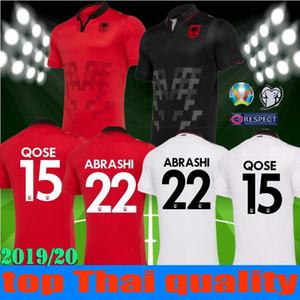 taglia S-XXL Coppa Europa 2019 2020 Nuova Maglia da calcio Repubblica d'Albania 19 20 Maglia da calcio HYSAJ Albania Home Red Away