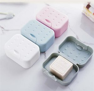 Travel soap dish case holder for home and travelling simple cleaning soap box saver soap holder