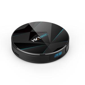SICAK SATIŞ Hk1 Mini Plus, Android 9.0 TV Box 2G16G RK3318 USB3.0 2.4G 5G ÇİFT Wifi Smart TV kutusu