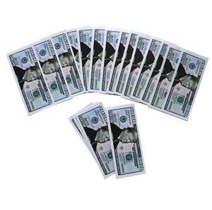 Donald Trump Papier-Dollar-Schein Spielzeug DHL-FREIE silberne Folie Banknote Gedenkfalschgeld Souvenir Accesseries DHE142