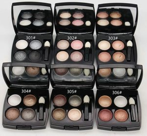 New Makeup Eyeshadow 4 Color Eyeshadow Palette 2G Highly-pigmented powder 12pcs