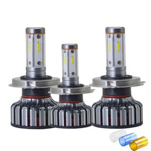새로운 4면 DIY 세 가지 색상 H7 LED H4 H11 HB4 LED 9006 9005 HB3 자동차 헤드 라이트 오토 라이트 H1 CSP 12V