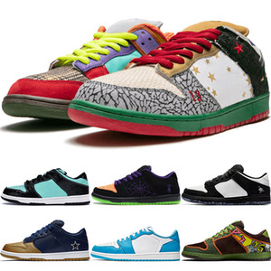 Sports Shoes Diamante Supply Co dos homens clássicos SB Dunk Low Preto Joker Pigeon Marinho Ouro calçados casuais Parra Staple Panda Raygun as sapatilhas das mulheres